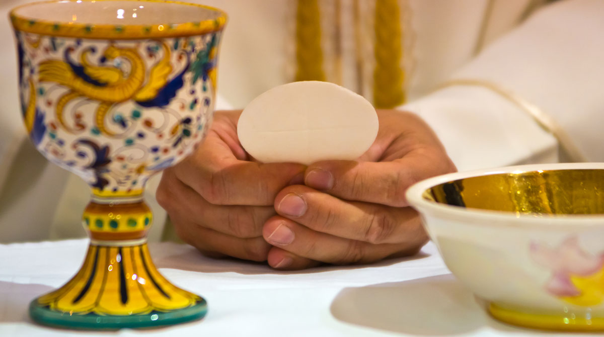 Catholic Holy Communion Eucharist