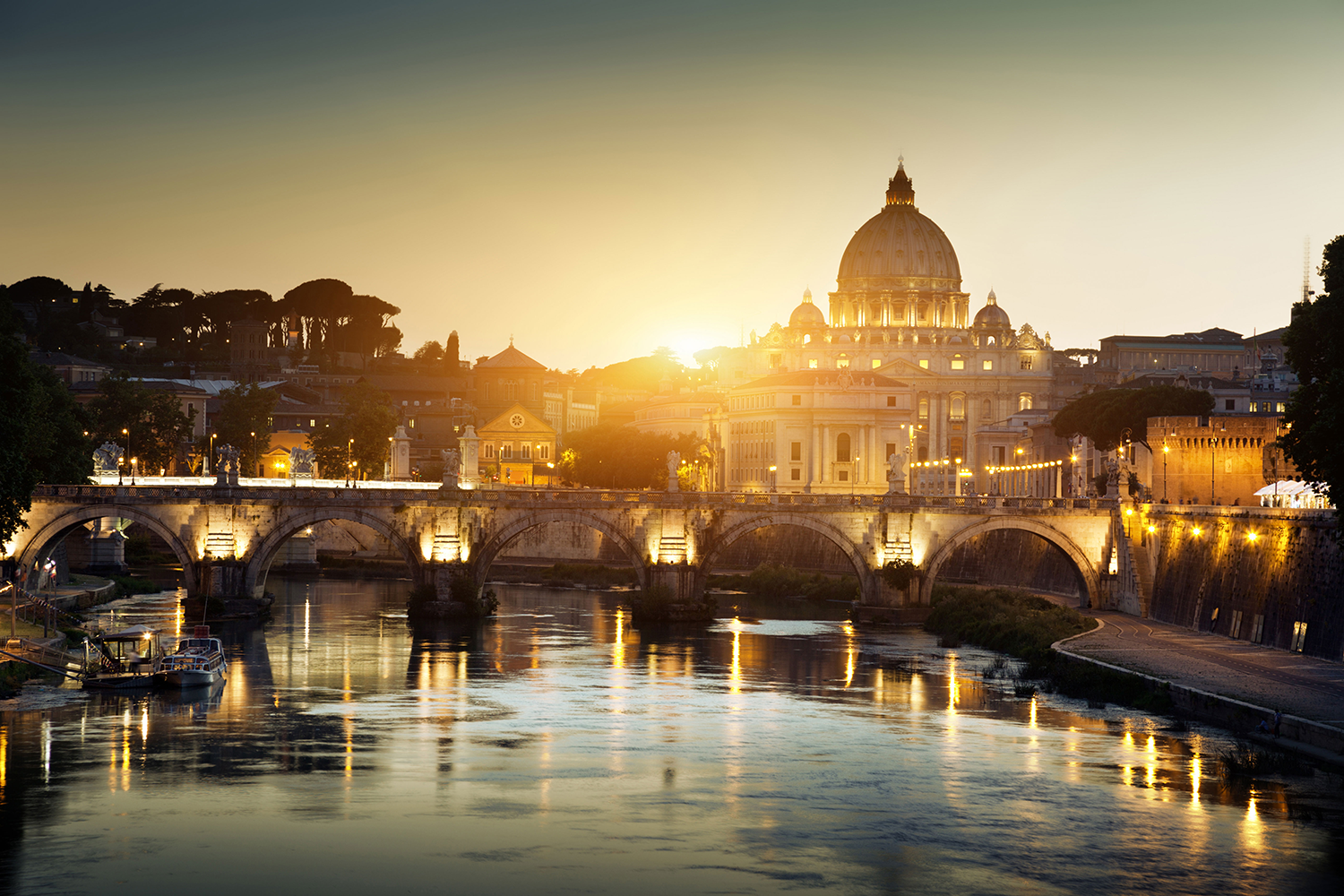 Waking Up Catholic - Vatican Sunrise